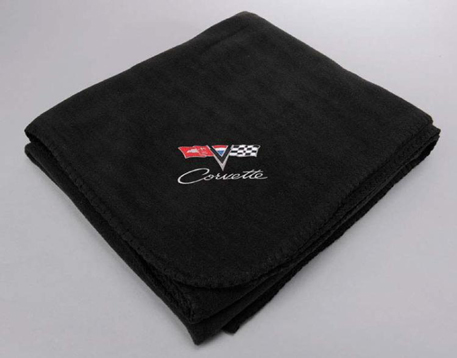 1963 1967 Corvette C2 Black Fleece Blanket New Ebay