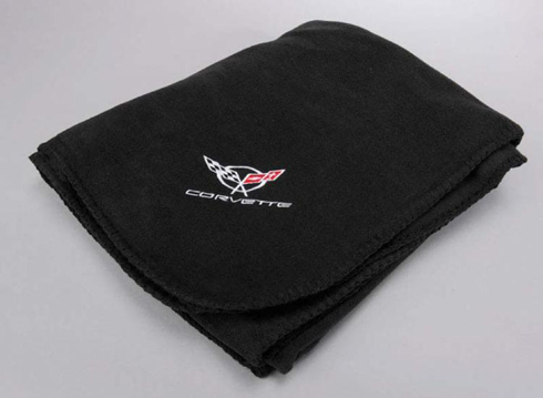 1997 2004 Corvette C5 Black Fleece Blanket New Ebay