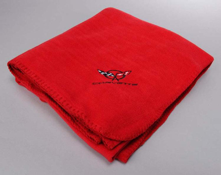 Purchase 1997 2004 Corvette C5 Red Fleece Blanket New